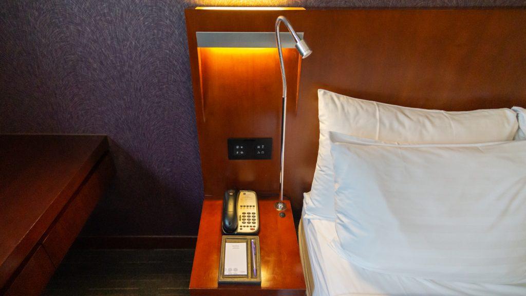 Novotel Century Hong Kong Executive Premier Room bedside table