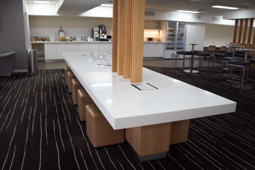 11 Qantas Lounge Mackay workbench