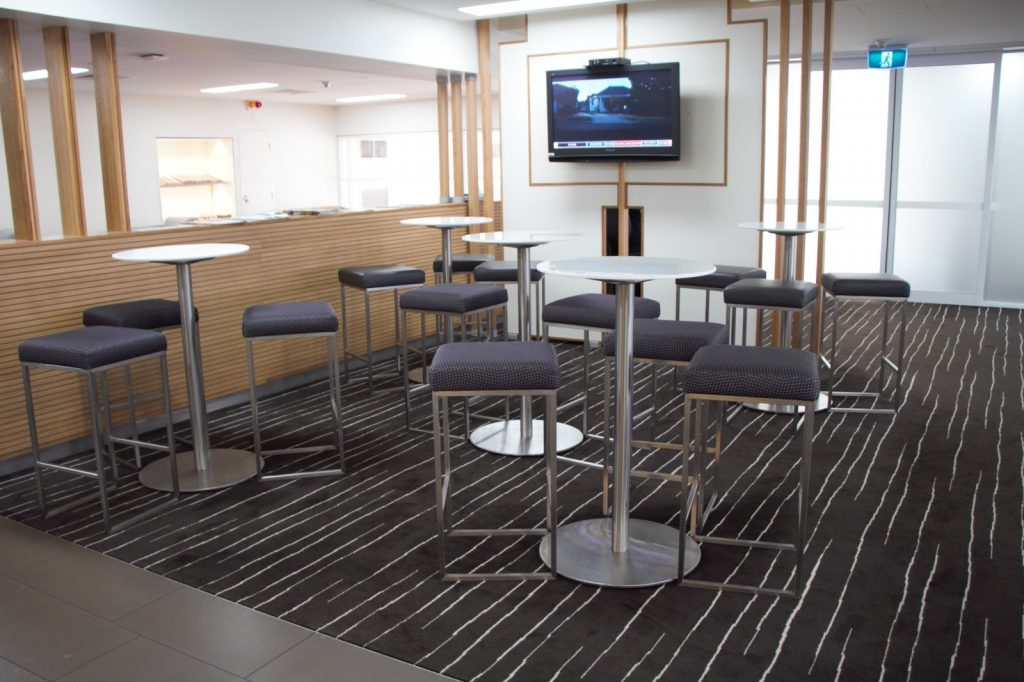 12 Qantas Lounge Mackay bar stool seating area