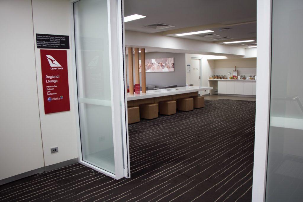 3 Qantas Lounge Mackay