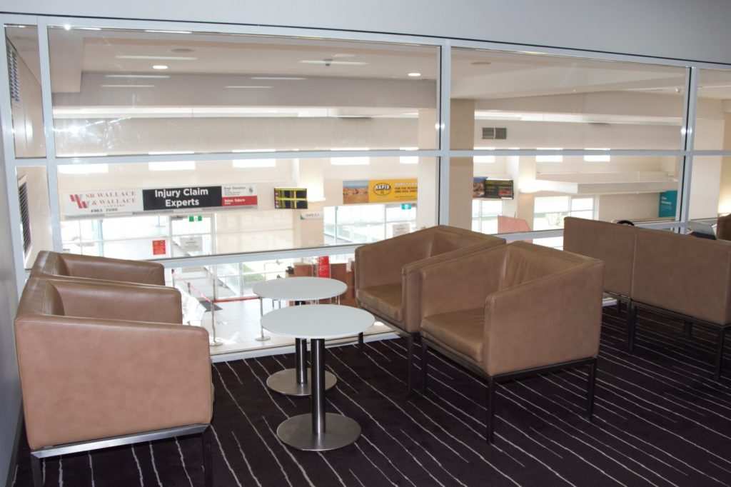 5 Qantas Lounge Mackay seating area