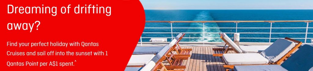 Earning Qantas Points - Cruises
