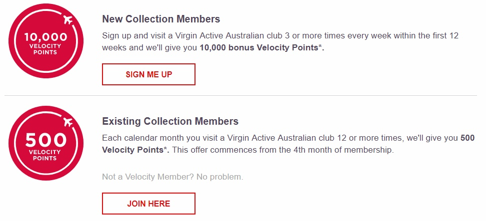 Earning more Velocity Points - Virgin Mobile