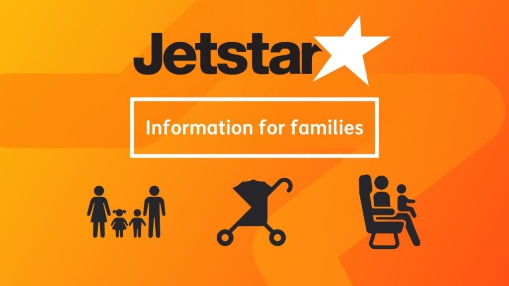 Jetstar information for families