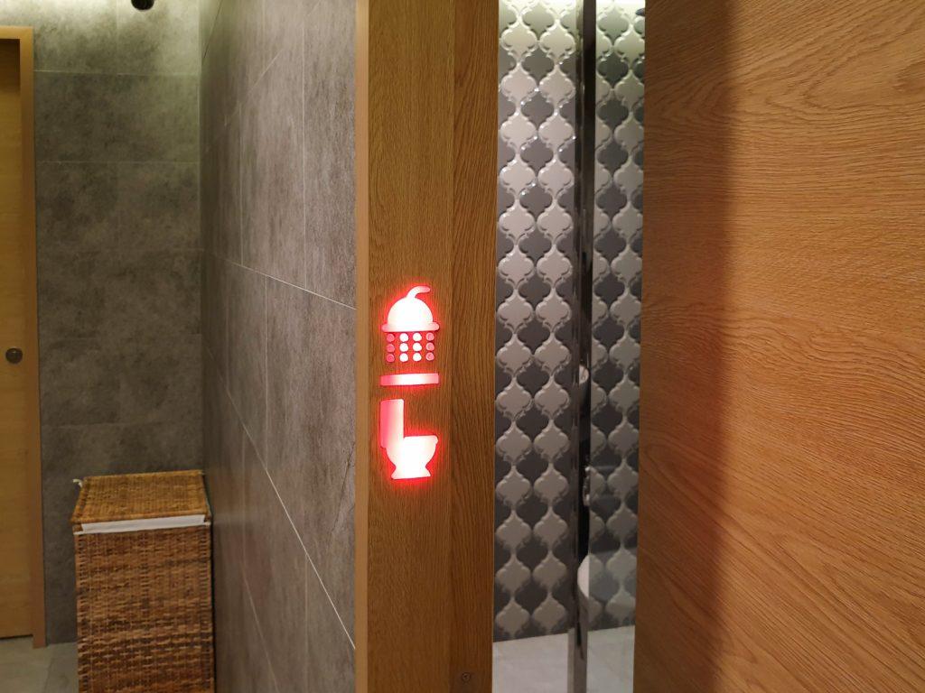 Marhaba Lounge Singapore bathroom