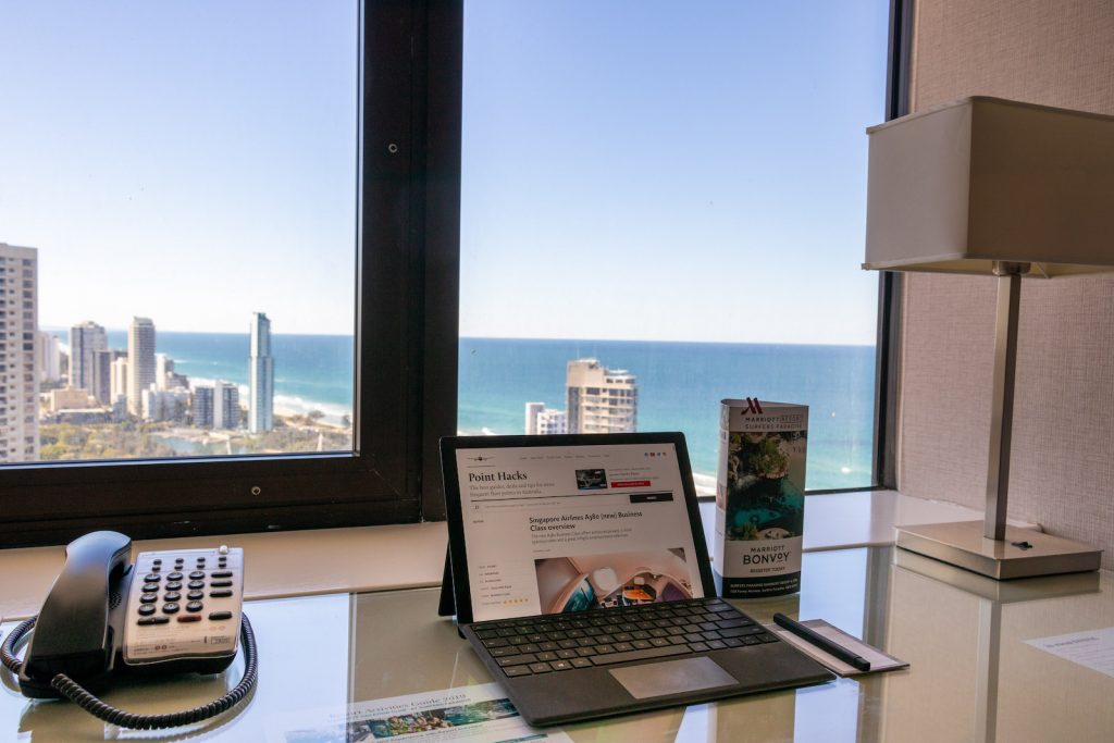 Surfers Paradise Marriott Resort and Spa Junior Suite view