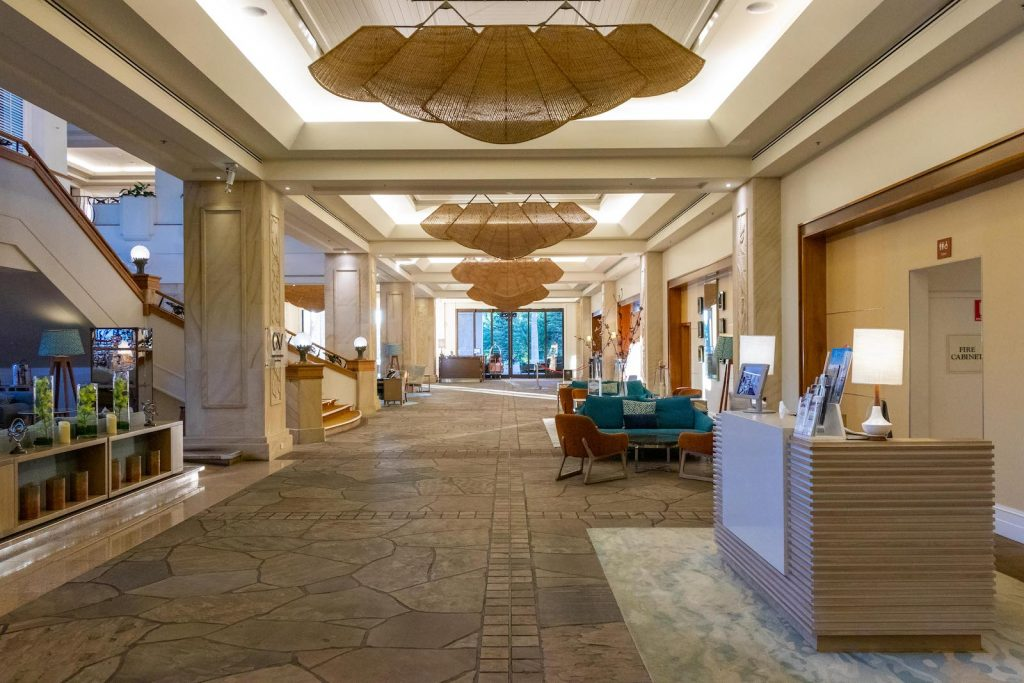 Surfers Paradise Marriott Resort and Spa lobby