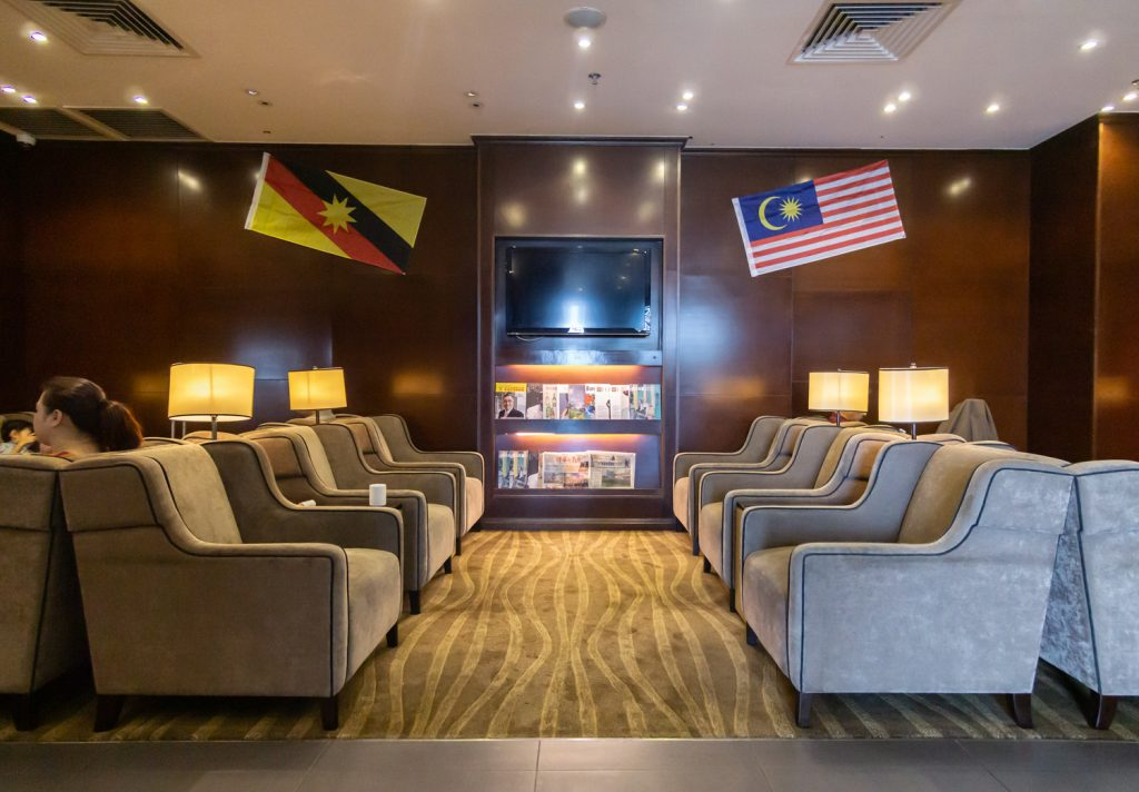 Plaza Premium Lounge Kuching seats