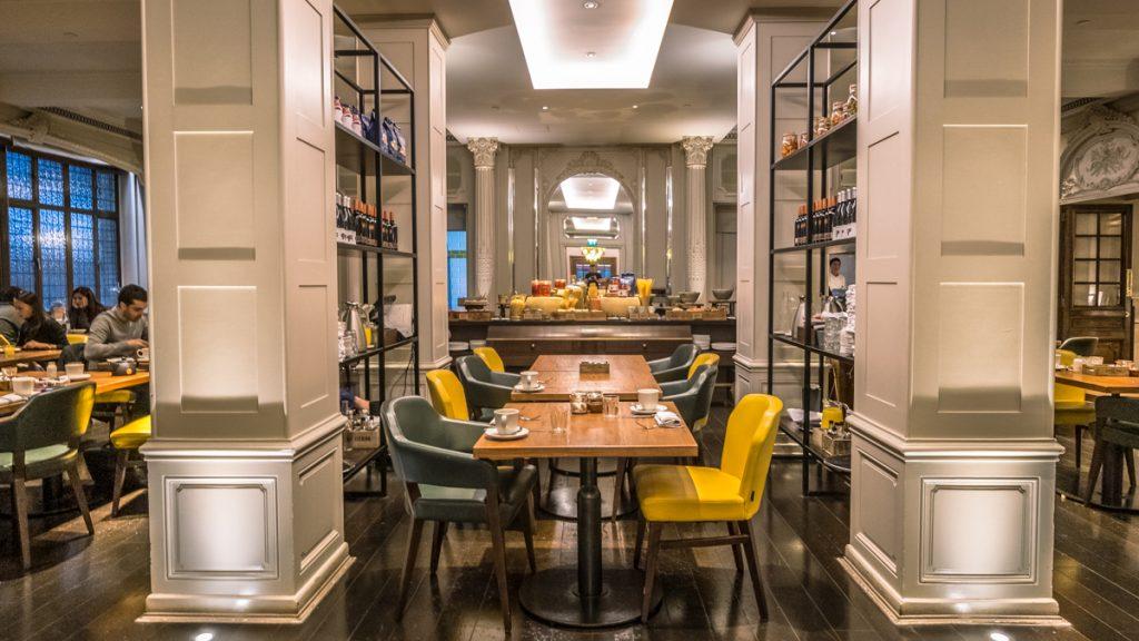 Sheraton Grand London Park Lane - Mercante dining