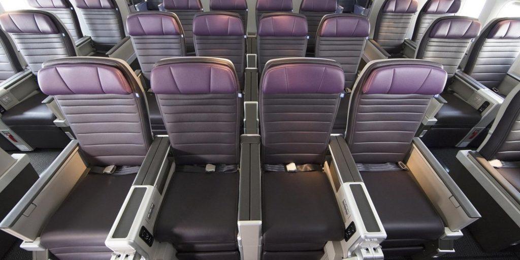 United Premium Economy seat
