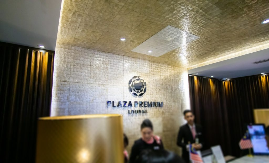 Plaza Premium KLIA Satellite entrance