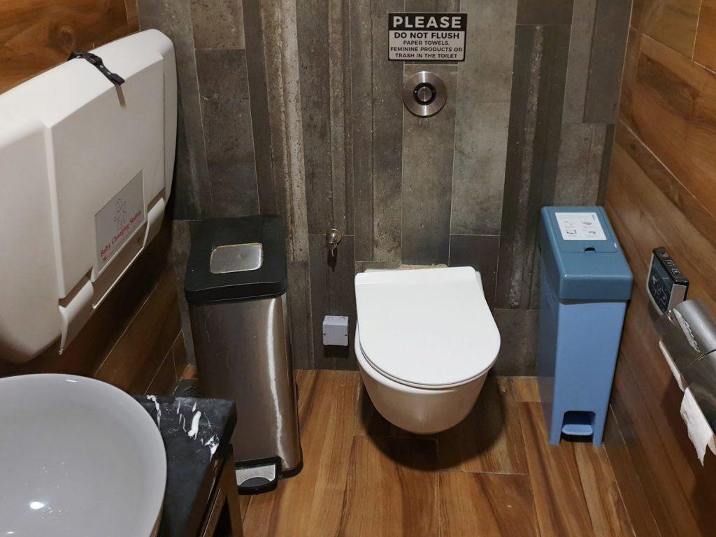 SATS Premier Lounge Changi T3 toilet