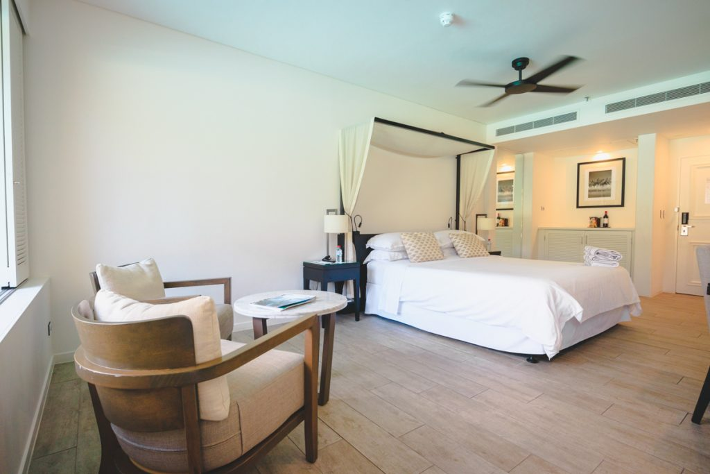 Sheraton Grand Port Douglas Premium Lagoon Edge bed
