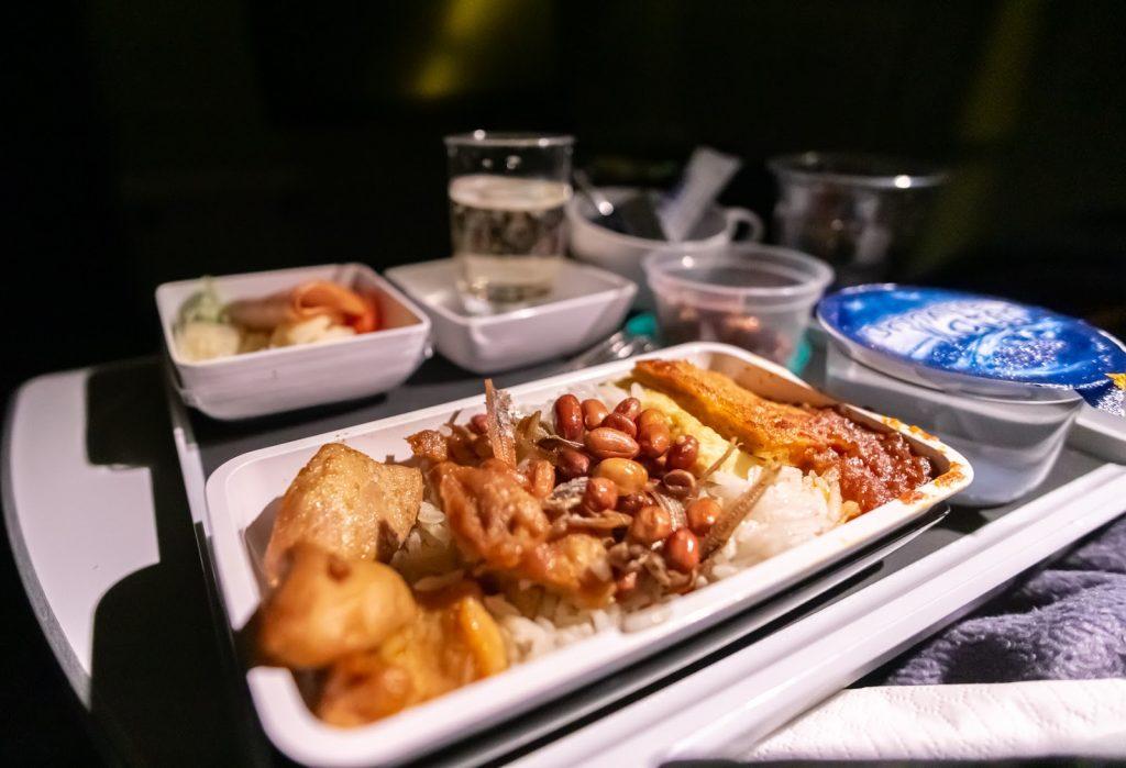 Singapore Airlines Premium Economy Nasi Lemak