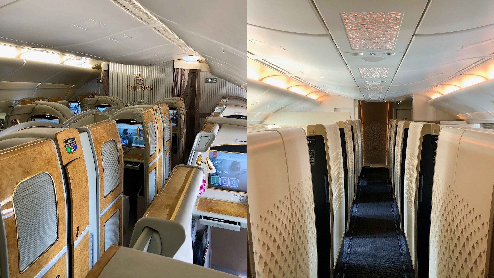 Emirates vs Etihad A380 First Class