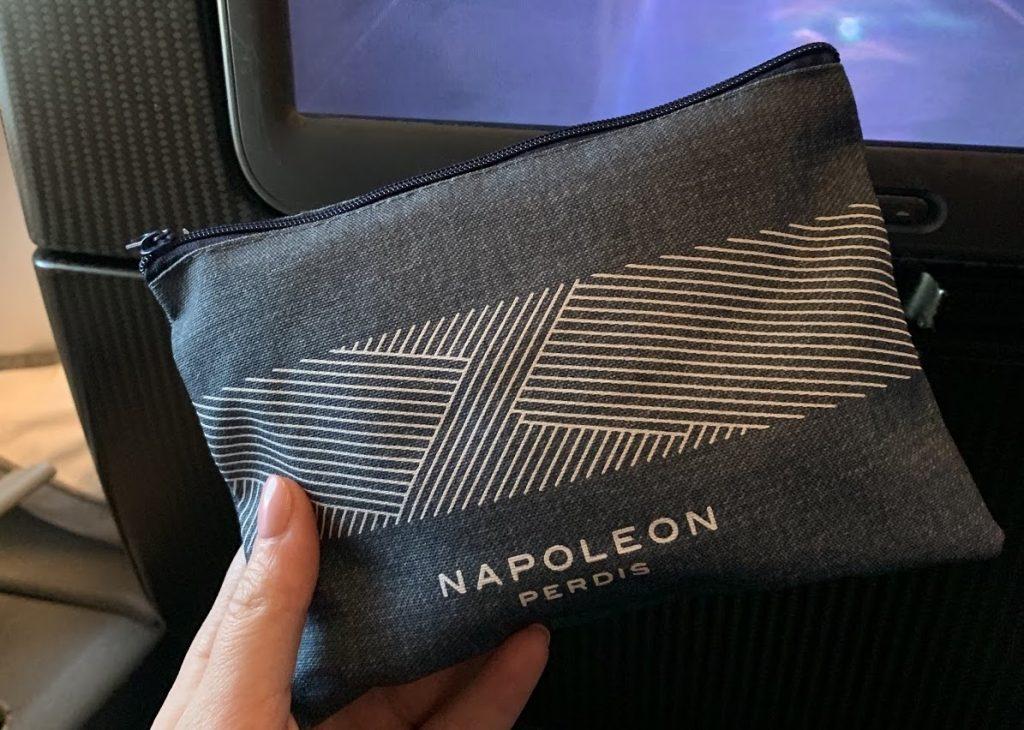 Qantas A380 Economy Napoleon Perdis amenity kit
