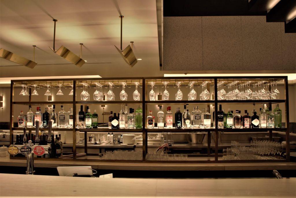 Qantas International London Lounge bar