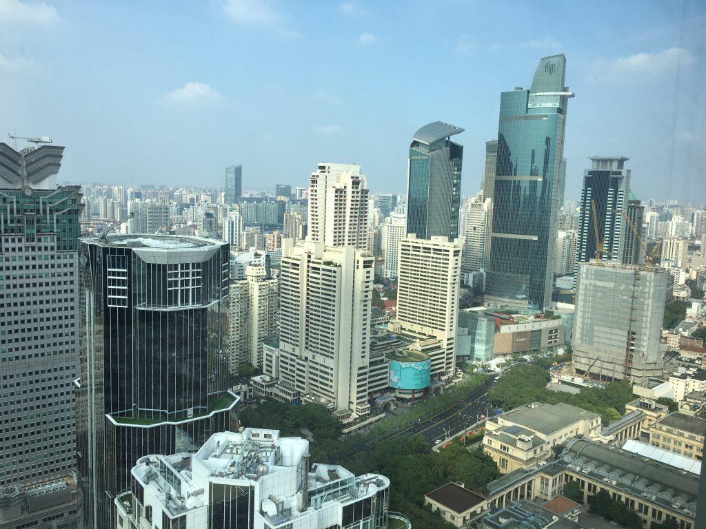 Shangri-La Jing An Shanghai view