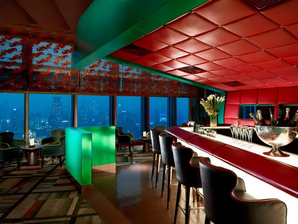 Shangri-La Pudong Jade On 36 bar