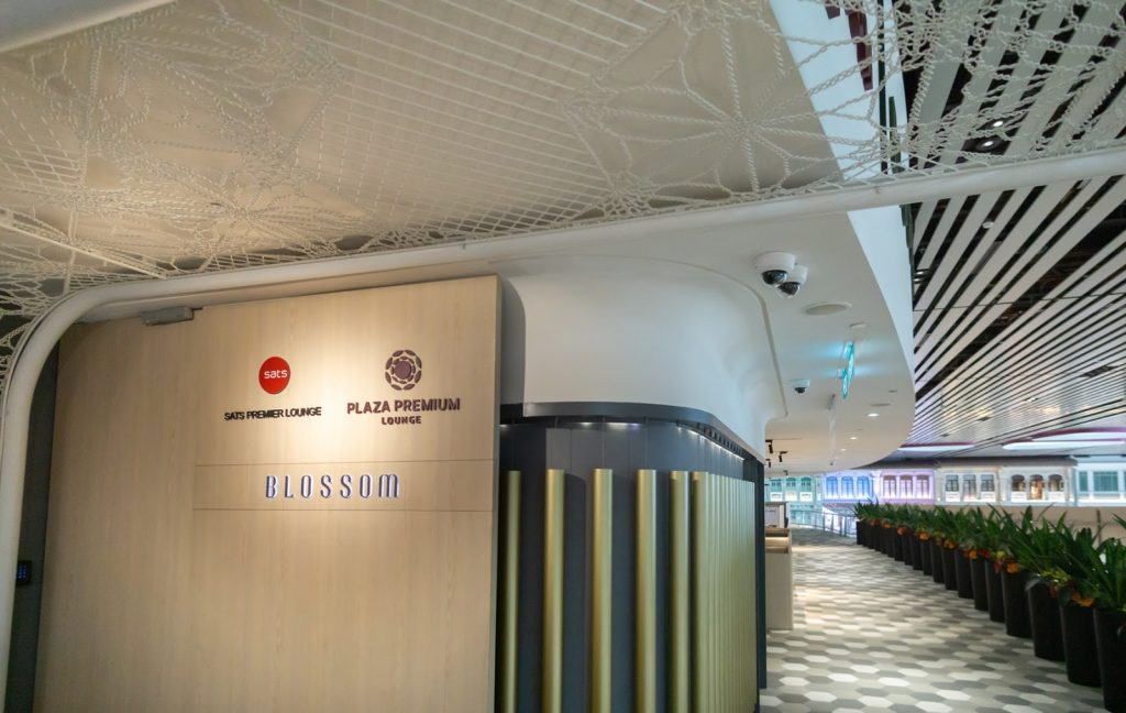 The Blossom Lounge Changi entrance