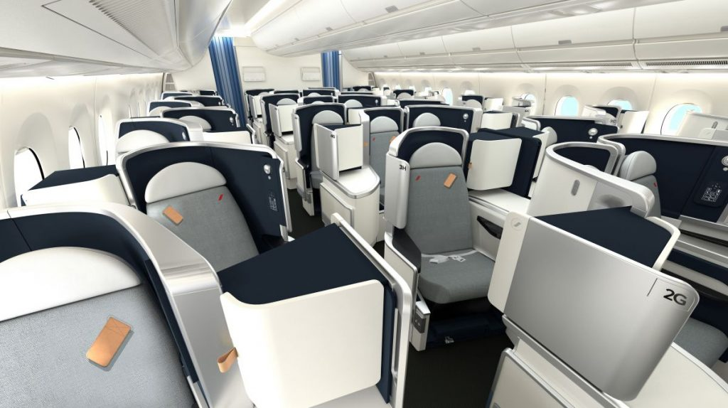 Air France A350 Business Class