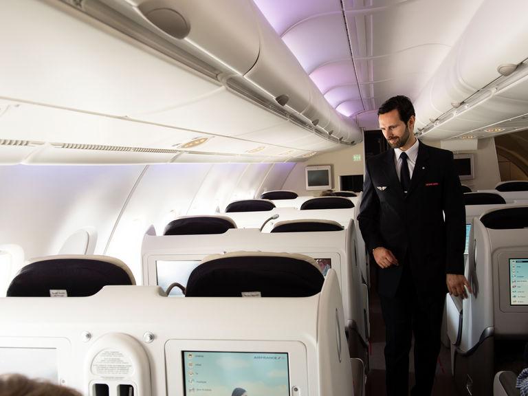 Air France A380 Business Class