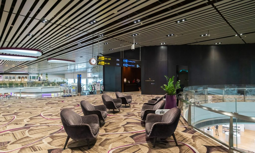 Changi Airport Cathay Pacific lounge Terminal 4