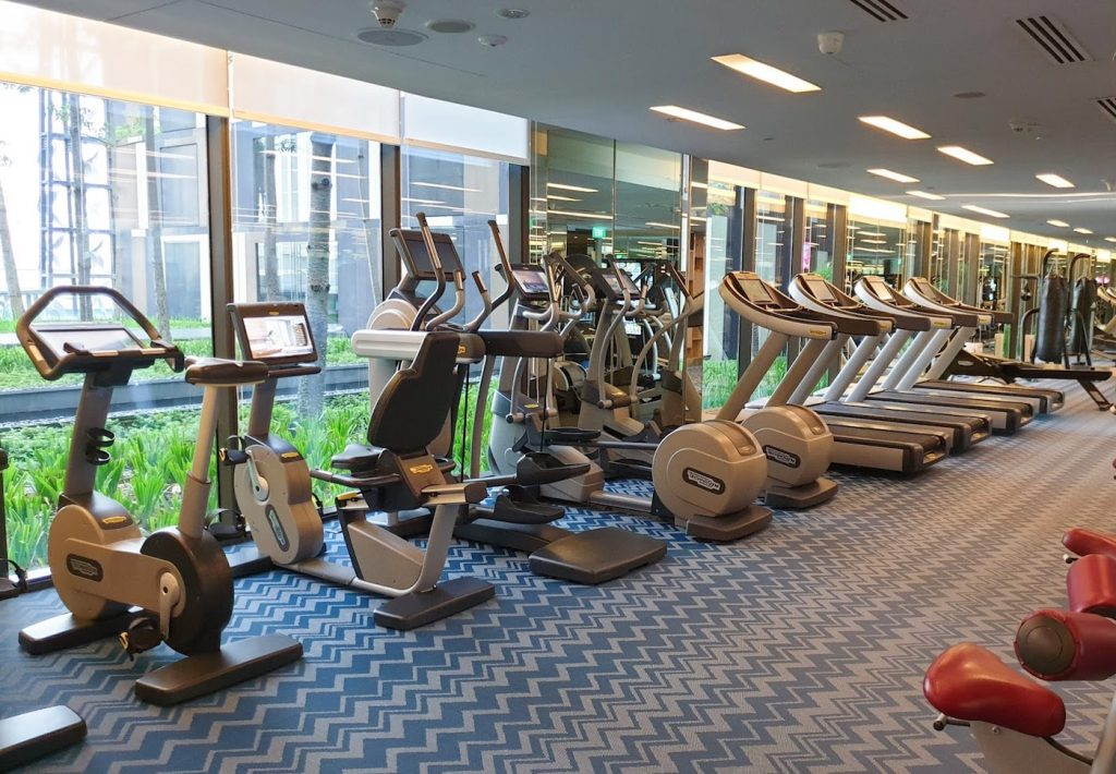Crowne Plaza Changi Airport Fitness Centre