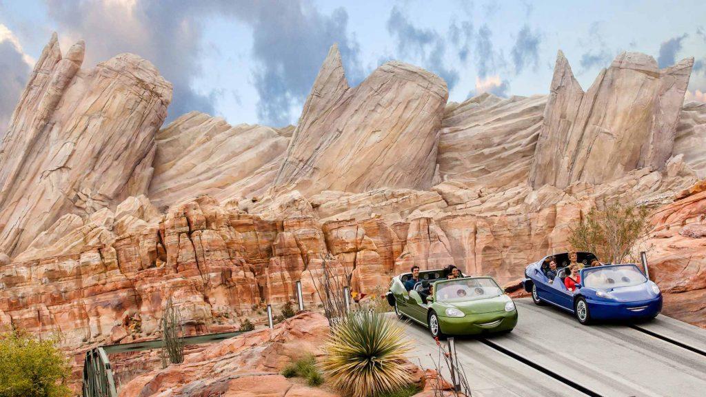 Disneyland Radiator Springs ride