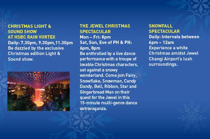 Jewel Changi Airport Christmas Activity 2019