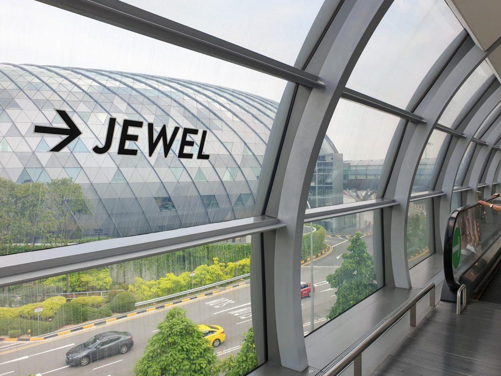 Jewel Changi Airport checkin