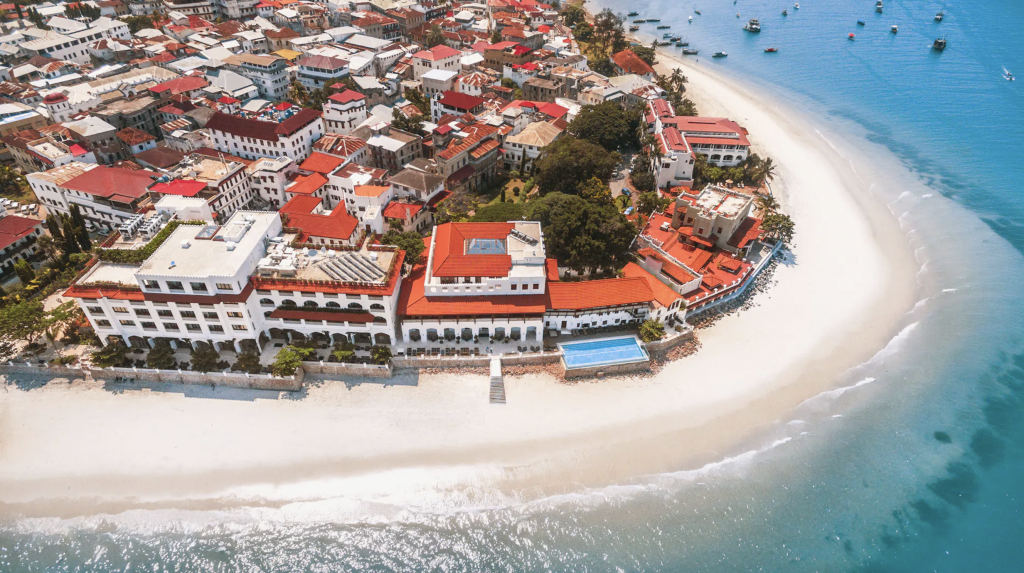 Park Hyatt Zanzibar from above