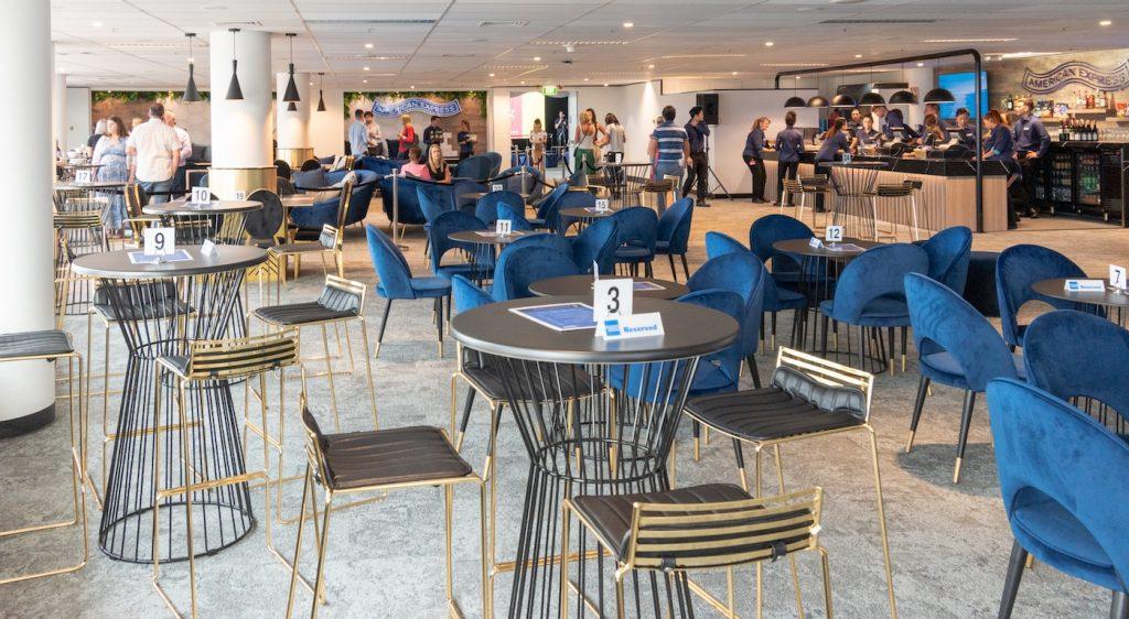 American Express Invites Qudos Bank Arena seating