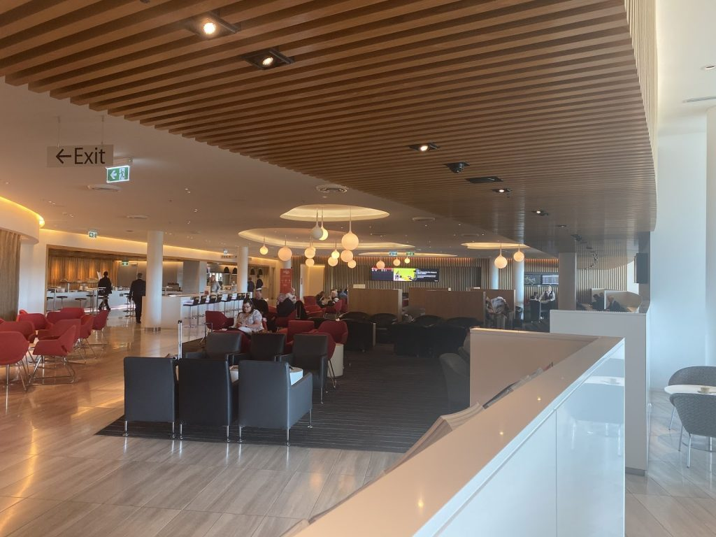 Qantas Club Canberra Lounge