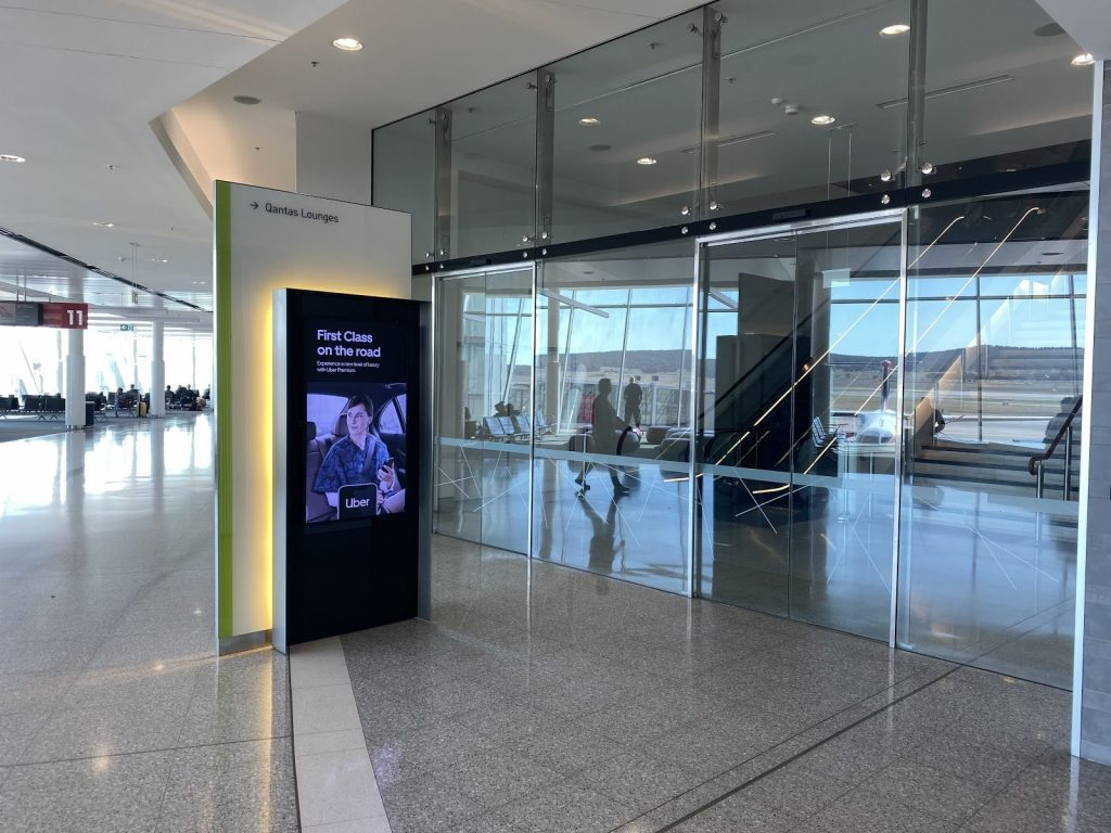 Qantas Club Canberra Lounge location