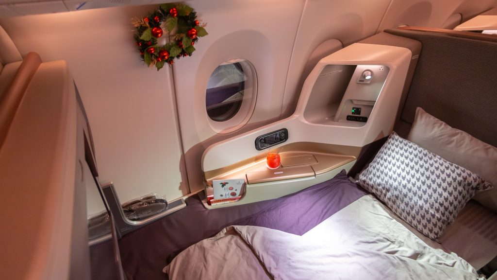 Singapore Airlines A350 Business Class - BNE-SIN