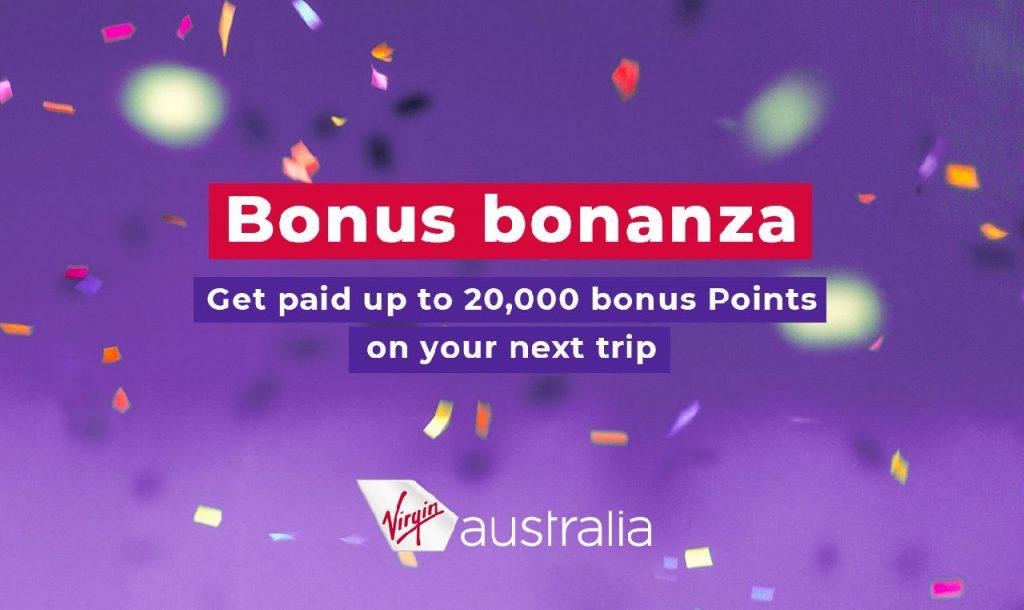 Bonus Velocity Point promotion March 2020